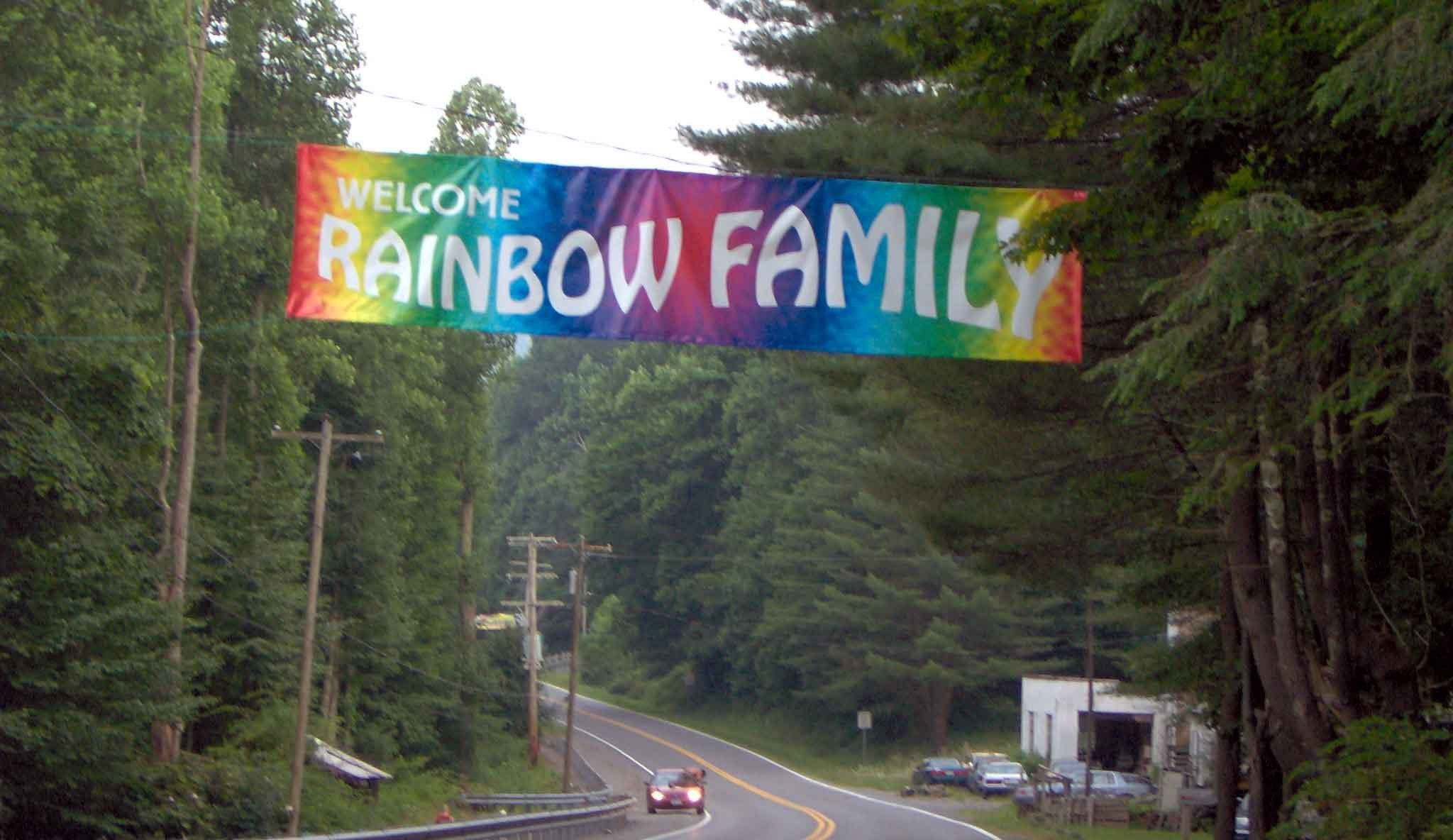 Rainbow_Gathering_welcome_road_sign